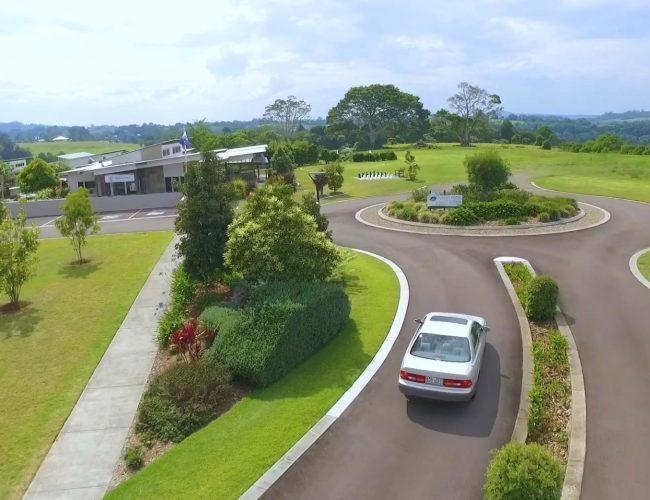 MG driveway